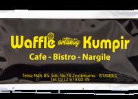 Ortaköy Waffle Kumpir, Sarı Siyah Baskılı & LogoluIslak Mendil Nadir Ambalaj Islak Mendil