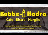 Kubbe Hadra Cafe Bistro Nargile, Sarı Siyah Islak Mendil Nadir Ambalaj Islak Mendil