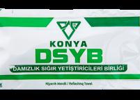 Konya DSYB, Yeşil Beyaz Islak Mendili Nadir Ambalaj Islak Mendil