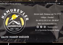 Hamurevler, Siyah ve Sarı Renkli Baskılı & Logolu Islak Mendil Nadir Ambalaj Islak Mendil
