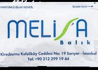 Melisa Balık, Renkli Baskılı & Logolu Islak Mendil Nadir Ambalaj Islak Mendil