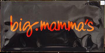 Big Mama's, 6x12 cm Siyah Islak Mendil