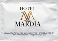 Hotel Mardia 7x10 Baskılı ve Logolu Islak Mendil Nadir Ambalaj Islak Mendil