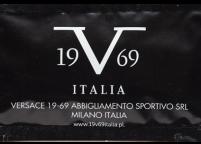 Versace 7x12 Siyah ve Beyaz Renkli, Baskılı & Logolu Islak Mendil Nadir Ambalaj Islak Mendil