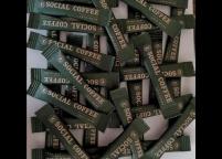 Cafe İçin Renkli, Baskılı & Logolu Stick Şeker Nadir Ambalaj Islak Mendil