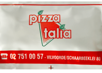 Pizza Logo Baskılı Islak Mendil Nadir Ambalaj Islak Mendil