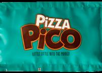 Pizza Restaurant Logolu Islak Mendil Nadir Ambalaj Islak Mendil
