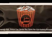7x14 Restaurant ve Cafe İçin Baskılı & Logolu Islak Mendil Nadir Ambalaj Islak Mendil